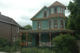 pleasant old victorian home designs with walls painted of grayish