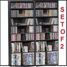 10 dvd shelves organizer storage multimedia tower cd rack dvd