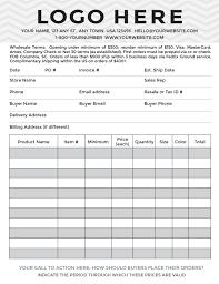 Sales Order Form Template Excel 11 Sle Order Form Templates Word Excel Pdf Formats