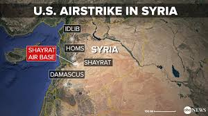 Radar Map Usa by Us Releases Flight Path Of Plane Used In Syria Chemical Attack