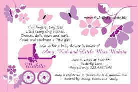 butterfly buggy baby shower invitation birthday ideas