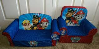 Flip Open Sofa by Paw Patrol Flip Open Sofa Matching Kids Chair Ryder Chase