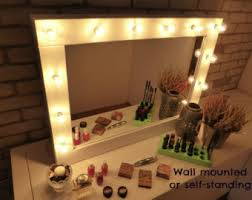 How To Make A Makeup Vanity Mirror Makeup And Jewelry Organizers Vanity Mirrors By Crafterscalendar