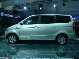 mpv car chevrolet sail hatchback u0026 chevrolet mpv enjoy auto expo