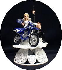 motocross bike cake yamaha dirt bike motorcycle wedding cake topper