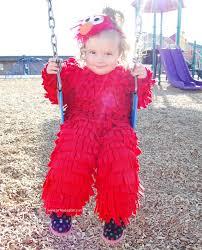 Toddler Monster Halloween Costume Diy Sew Elmo Halloween Costume Loves Glam