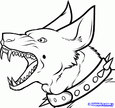 free coloring pages of police and dog free coloring pages of dogs