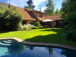 beautiful colonial style house in lo barnechea a luxury home for