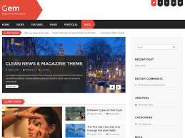 Home Design Gems Free Gem U2014 Free Wordpress Themes