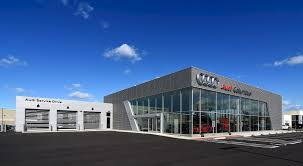 audi dealership byers audi of columbus renier construction