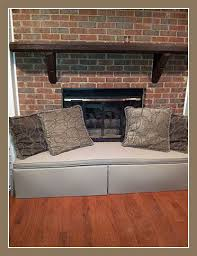 How To Cover Brick Fireplace by Jamboo Creations Hearthsoft Testimonials