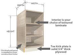 width of kitchen base cabinets open kitchen base cabinets