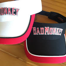 Bad Monkey Bad Monkey Text Logo Visor U2013 Bad Monkey Oc