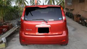 nissan note interior trunk pcx nissan note for sale the trinidad car sales catalogue u2013 ta