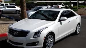 2013 cadillac ats premium with performance white lund