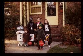 halloween 1977 in queens some of the 1st star wars halloween
