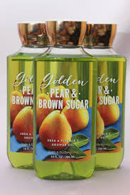 lot 3 golden pear u0026 brown sugar bath u0026 body works body wash shower