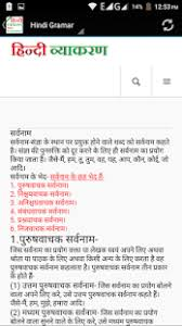 hindi grammar ह न द व य करण android apps on