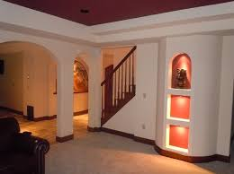 Simple Basement Finishing Ideas Interior Design Inexpensive Finished Basement Ideas For Low