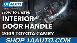 toyota camry interior door handle how to install replace rear interior door handle 2007 11 toyota