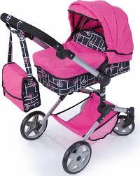 bayer design puppenwagen bayer design puppenwagen neo pro pink schwarz otto