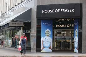 house of fraser plans challenger bank partnership news retail week