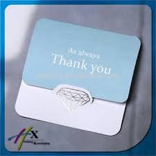 simple design for company thank you card greeting card