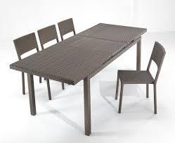 tavoli da giardino rattan tavoli da giardino allungabili cyreid