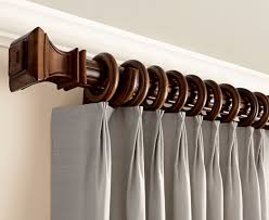 Wood Curtain Rods And Brackets Chic Inspiration Wooden Curtain Rods Wooden Drapery Rod Wood Pole