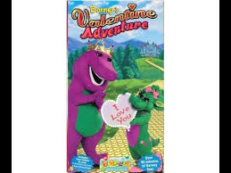 Opening Closing To Barney U0026 by Opening And Closing To Barney U0027s Valentine Adventure Vhs 2000