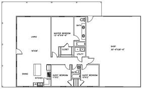 shop floor plans with living quarters complete guide build a comfortable shop with living quarters