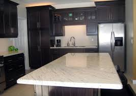 kitchen designs with dark cabinets an excellent home design charming white granite countertops for elegant kitchen traba homes