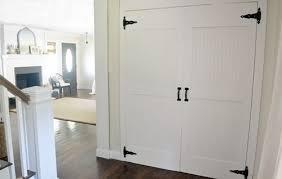 Closet Doors Diy Diy Cottage Closet Door Makeover Hometalk