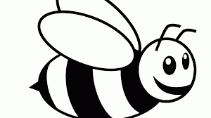 bee coloring colouring pages at shimosoku biz