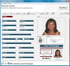 card software id flow photo id card software from files32 security