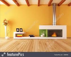 minimalist fireplace interior architecture empty interior with minimalist fireplace