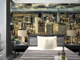 mural new york u0027s large 3d background wall urban city scenic murals