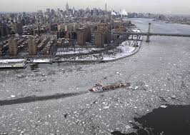 New York rivers images Hudson river freezes as manhattan is encased in worst ice for a jpg
