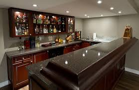 Finished Basement Bar Ideas Awesome Ideas Basement Bars Finished Bar In The Pictures Intended