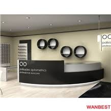 Luxury Reception Desk Luxury Modern Solid Surface Artificial Marble Fancy Diamond Shape