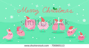 organ merry on blue background stock vector 706828243