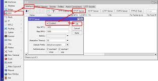 cara membuat vpn ip di mikrotik cara membuat pptp vpn server mikrotik kumpulan tutorial mikrotik
