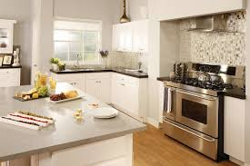 Modern White Kitchen Backsplash Kitchen Wonderful Image Of Small Kitchen Design And Decoration