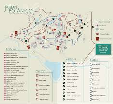 Puerto Rico Road Map by Jardin Botanico De Puerto Rico San Juan Botanical Garden