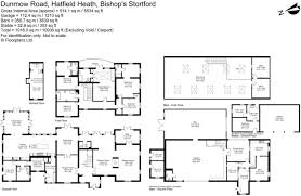 hatfield house floor plan 6 bedroom detached house for sale in hatfield heath bishop u0027s