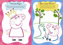 peppa pig peppa george u0027s shiny sticker play book ladybird
