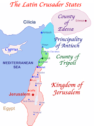 Blank Map Of Israel And Palestine by The Crusades To The Holy Land