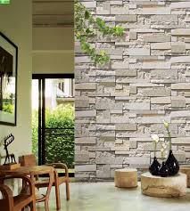3d cultured stone wallpaper for the home pinterest stone