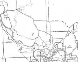 Kansas City Metro Map 1947 Highway Planning Map The Line Creek Loudmouth