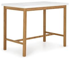 table haute cuisine bois tables hautes de cuisine table table haute de bar vigando 3